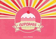 Logotipo grátis para o seu negócio de cupcakes (ou doces)