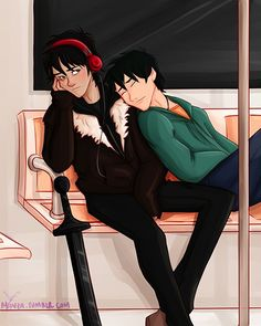 This is too cute. I don't ship them but I like the idea that they become close friends.