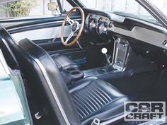 ford mustang fastback 1967 interior car photo