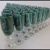 Flute, Champagne, Tableware, Class Ring, Champagne Flutes, Laser Engraving, Box Covers, Flute Glasses, Custom Art