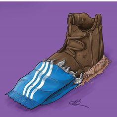 #sneakerart #artist @kodymasonn