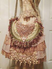Bohemian Gypsy Tapestry Bag Vintage French by VintageVelvetGypsy, $125.00
