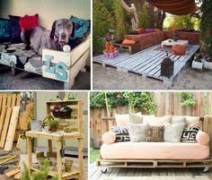 Wood+Pallet+Ideas | Pallet Projects! 15 More Reclaimed Furniture & Decor Ideas