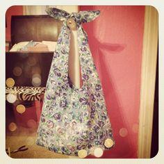 DIY bag. I want one I can put over my shoulder!