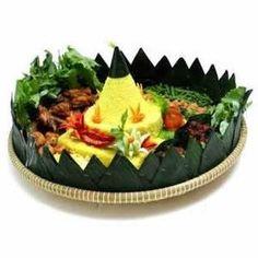 Resep Nasi Kuning Tumpeng - http://resep4.blogspot.com/2013/04/resep-nasi-kuning-tumpeng-komplit.html