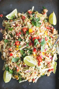 Vegan Thai Quinoa Salad with Peanut Lemongrass Dressing Crazy Vegan Kitchen