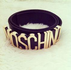 #dream .... #moschino #black #belt