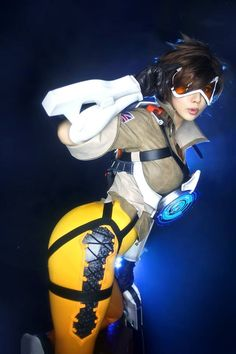 Blizzard Overwatch - Tracer by Tasha https://www.facebook.com/TashaCosplay/