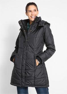Steppelt kabát • fekete • bonprix áruház e2cd357b10
