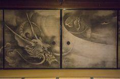 海北友松「雲龍図」一部121008