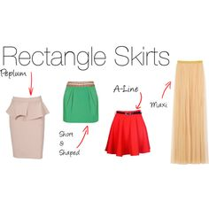 Rectangle Skirts by havilarna on Polyvore featuring moda, Mulberry and Monsoon