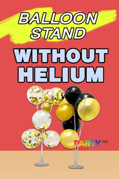 The Balloon Bouquet Stand is easy to assemble and you can also disassemble for next use. It's reusable. How to make beautiful table balloon centerpieces? 1. Assemble the table balloon stand. 2. Blow up balloons. (Latex balloons or foil balloons is OK) 3. Tie balloons to the cups. 4. Then a beautiful balloon table centerpieces are ready. Balloon Bouquet, Balloon Arch, Balloon Garland, The Balloon, Blowing Up Balloons, Foil Balloons, Latex Balloons, Balloon Table Centerpieces, Balloon Decorations