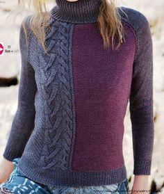 Knitting Designs, Crochet Designs, Knitting Projects, Winter Blouses, Knitting Machine Patterns, Knitted Coat, Knit Fashion, Knitwear, Knit Crochet