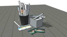 Large preview of 3D Model of Workplan Drawing