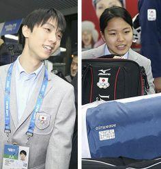 金メダル期待の羽生、高梨らソチに到着  http://www.yomiuri.co.jp/olympic/2014/feature/sochi/20140204-OYT8T00868.htm?cx_thumbnail=10&from=yolsp  ブライアン・オーサー・コーチらと共に姿を見せた羽生選手は「緊張感は特別だが、それを受け止める覚悟もある。いつも通りやるだけ」。米誌で金メダル候補にあげられたことについては「五輪の魔物もある。自分ができる最高の演技ができたら結果につながると思う」と意気込みを見せた。