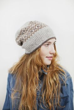 Seasons hat from Brooklyn Tweed