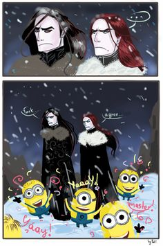The Minions discover Melkor xD