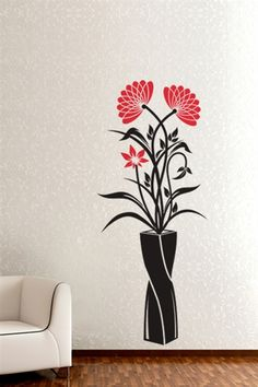 Vase of Wildflowers Wall Art & Decor