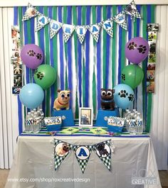 Puppy Dog Pals Birthday Party Ideas | Photo 8 of 21 | Catch My Party