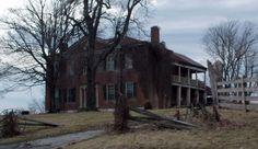 Creepy looking empty house on Highway 39, Garrard County, Kentucky