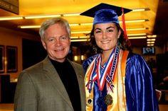 Phi Theta Kappa Director Rod Risley & Mesa Community College graduate Alexandra McMullin