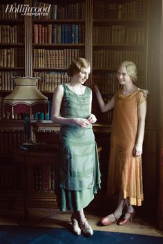 Laura Carmichael, Lily James On the Set of 'Downton Abbey' as Hollywood Reporter Gets Exclusive Look at Season 5