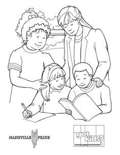 gay pride coloring pages