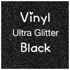 Black Glitter Adhesive Craft Vinyl, Ultra Glitter, 2 Mil, Glitter Vinyl, Vinyl Decal, Scrapbooking, DIY Wedding Decor, Sign Vinyl by LiveLaughLoveOcean on Etsy