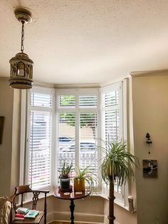 Free installation on all plantation shutters! Minimum Spend Applies, Offer ends Dec Interior Window Shutters, Wooden Shutters, Interior Windows, Cafe Style Shutters, Interior Design London, Shutter Doors, Room Goals, Floor To Ceiling Windows