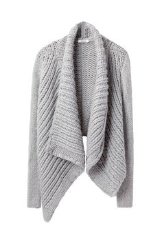 Helmut Lang shawl cardi.
