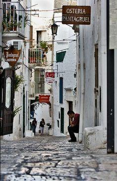 Ostuni. Puglia