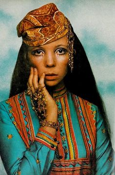 Vogue US August 1968  Penelope Tree by David Bailey