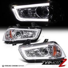 #2011-#2014 #Dodge #Charger #Chrome #BEAST #Neon #Tron #Projector #Headlight #VIPMOTOZ