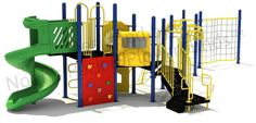 Noahs Park and Playgrounds - Luther Play Structure, $14,620.00 (http://noahsplay.com/playground-equipment-needs/church/luther-play-structure/)