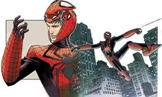 The Spider-Man (Dr. Aaron Aikman) (Earth-31411)   art by Dustin Weaver