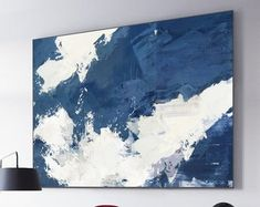 Very Large Abstract Paintings On Canvas,Yellow Abstract Canvas Art Oil Painting,Blue Abstract Art Painting,Modern Living Room Abstract Art Blue Abstract Painting, Abstract Canvas, Oil Painting On Canvas, Canvas Art, Abstract Paintings, Ocean Canvas, Sky Art, Beautiful Paintings, Art Oil
