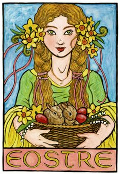 Eostre, Germanic Goddess of Spring and the Dawn