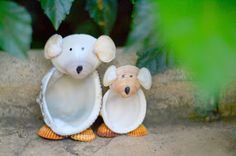 DIY: Koalas hechos con conchas de mar ~ Childstorming #DIY #crafts #summer