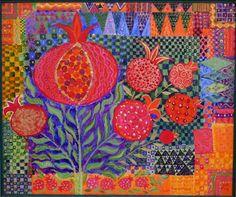 by Chanan Mazal love the pomegranates.