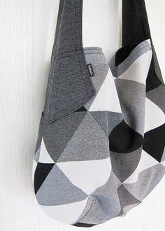 origami bag einkaufstasche jutebeutel schnell einfach wenig stoff n hen selber machen. Black Bedroom Furniture Sets. Home Design Ideas
