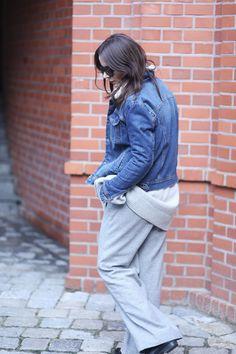 AGNESA ADAMCZAK: Denim jacket - back to 80's