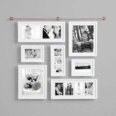 8x10 Wall Frames stairs idea.   for the home   pinterest   canvas display