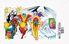 Ungoliantschilde — the X-Men Line-Ups (from the Marvel Universe...