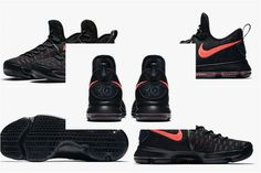 buy online eaef6 73bf1 ... germany nike kevin durant kd 9 aunt pearl 881796 060 black hot punch  official 7095d 3c762