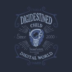 Check out this awesome 'Digidestined%3A+Second+wave' design on @TeePublic!