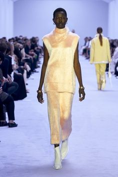 High By The Beach, Walk This Way, Vogue Russia, Fashion Show Collection, Jil Sander, Spring Summer Fashion, Peplum Dress, Ready To Wear, Women Wear
