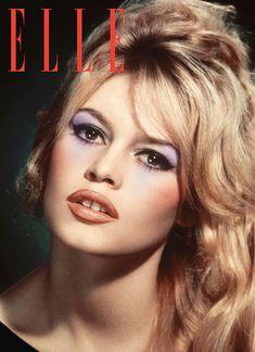 Brigitte Bardot Mixed Media - Brigitte Bardot, Elle Magazine by Thomas Pollart Maquillage Brigitte Bardot, Bridget Bardot Makeup, Bardot Brigitte, 1960s Fashion Women, Bridgitte Bardot, 60s Makeup, Sophia Loren Images, Elle Magazine, Magazine Covers