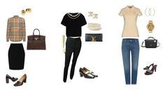 TRADI 1 by franceska-06 on Polyvore featuring mode, Ralph Lauren, Burberry, Boutique Moschino, Levi's, L.K.Bennett, Hermès, CÉLINE, Louis Vuitton and Lacoste