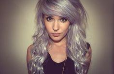 #silver #platinum #hair