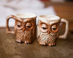 these owl mugs are awesome.